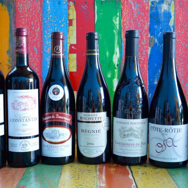 La Sélection de Vins Rouges par Vincent